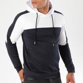 /achat-sweats-capuche/aarhon-sweat-capuche-104-bicolore-bleu-marine-blanc-141721.html