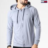 /achat-sweats-zippes-capuche/tommy-hilfiger-jeans-sweat-zippe-capuche-jersey-gris-141932.html