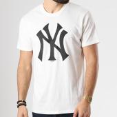 /achat-t-shirts/47-brand-tee-shirt-mlb-new-york-yankees-350205-blanc-noir-142054.html
