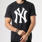 /achat-t-shirts/47-brand-tee-shirt-mlb-new-york-yankees-350192-gris-anthracite-chine-blanc-142057.html