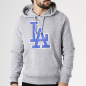 /achat-sweats-capuche/47-brand-sweat-capuche-mlb-los-angeles-dodgers-299503-gris-chine-142058.html