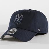 /achat-casquettes-de-baseball/47-brand-casquette-new-york-yankees-clean-up-falton-fltcn17gws-bleu-marine-142063.html