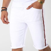 /achat-shorts-jean/terance-kole-short-jean-bandes-brodees-8019-blanc-rouge-noir-142077.html