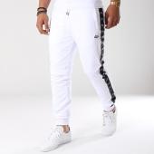 /achat-pantalons-joggings/wrung-pantalon-jogging-bandes-brodees-allstars-blanc-noir-142031.html