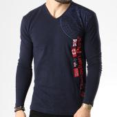 /achat-t-shirts-manches-longues/canadian-peak-tee-shirt-manches-longues-jazz-bleu-marine-142206.html