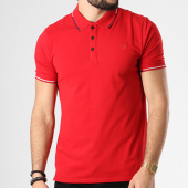 /achat-polos-manches-courtes/guess-polo-manches-courtes-m83p03-k4kv0-rouge-142176.html