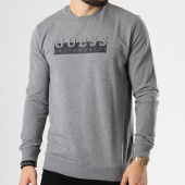 /achat-sweats-col-rond-crewneck/guess-sweat-crewneck-m83q01-k6xg0-gris-chine-142179.html