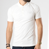 /achat-polos-manches-courtes/ikao-polo-manches-courtes-f178-ecru-142103.html