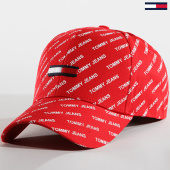 /achat-casquettes-de-baseball/tommy-hilfiger-jeans-casquette-printed-flag-0144-rouge-142129.html