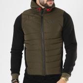 /achat-vestes/canadian-peak-veste-zippee-capuche-giordano-vert-kaki-noir-142219.html