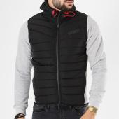 /achat-vestes/canadian-peak-veste-zippee-capuche-giordano-noir-gris-chine-142222.html