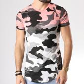 /achat-t-shirts-longs-oversize/john-h-tee-shirt-oversize-18105-rose-degrade-blanc-camouflage-142341.html