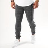 /achat-pantalons-carreaux/john-h-pantalon-a-carreaux-avec-bandes-240-gris-anthracite-bleu-marine-142376.html
