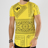 /achat-t-shirts-longs-oversize/john-h-tee-shirt-oversize-608-jaune-bandana-142377.html