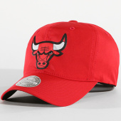 /achat-casquettes-de-baseball/mitchell-and-ness-casquette-chicago-bulls-light-and-dry-bh73ht-rouge-142246.html