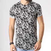 /achat-t-shirts-longs-oversize/uniplay-tee-shirt-oversize-uy215-noir-floral-blanc-142386.html