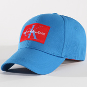 /achat-casquettes-de-baseball/calvin-klein-casquette-monogram-0256-bleu-clair-rouge-142746.html