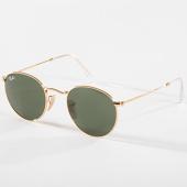 /achat-lunettes-de-soleil/ray-ban-lunettes-de-soleil-femme-round-metal-3447-dore-142547.html