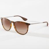 /achat-lunettes-de-soleil/ray-ban-lunettes-de-soleil-erika-classic-4171-havane-argente-142575.html