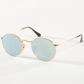 /achat-lunettes-de-soleil/ray-ban-lunettes-de-soleil-round-metal-3447-dore-142692.html