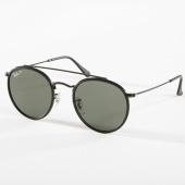 /achat-lunettes-de-soleil/ray-ban-lunettes-de-soleil-round-double-bridge-3647n-polarisees-noir-142706.html