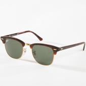/achat-lunettes-de-soleil/ray-ban-lunettes-de-soleil-clubmaster-classic-3016-havane-dore-142709.html