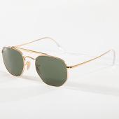 /achat-lunettes-de-soleil/ray-ban-lunettes-de-soleil-femme-marshal-3648-dore-noir-142715.html