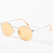 /achat-lunettes-de-soleil/ray-ban-lunettes-de-soleil-round-evolve-3447-argente-orange-142716.html