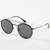 /achat-lunettes-de-soleil/ray-ban-lunettes-de-soleil-round-double-bridge-3647n-noir-142736.html