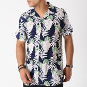 /achat-chemises-manches-courtes/brave-soul-chemise-manches-courtes-calla-bleu-marine-floral-142866.html