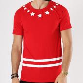 /achat-t-shirts-longs-oversize/classic-series-tee-shirt-oversize-tech-rouge-blanc-142795.html