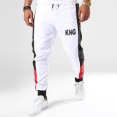 /achat-pantalons-joggings/classic-series-pantalon-jogging-king-blanc-noir-142824.html