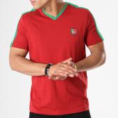 /achat-t-shirts/celio-tee-shirt-avec-bande-llefifave-portugal-bordeaux-vert-142919.html
