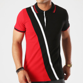 /achat-polos-manches-courtes/classic-series-polo-manches-courtes-2091-noir-blanc-rouge-142926.html