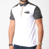 /achat-polos-manches-courtes/classic-series-polo-manches-courtes-10-8106-blanc-noir-chine-143140.html