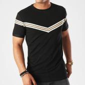 /achat-t-shirts/project-x-tee-shirt-bandes-brodees-88181152-noir-dore-ecru-143090.html