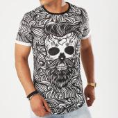 /achat-t-shirts-longs-oversize/uniplay-tee-shirt-oversize-t272-noir-blanc-143036.html