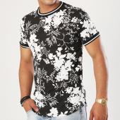 /achat-t-shirts-longs-oversize/uniplay-tee-shirt-oversize-g022-noir-blanc-floral-143037.html