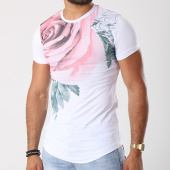 /achat-t-shirts-longs-oversize/classic-series-tee-shirt-oversize-29-blanc-floral-143224.html