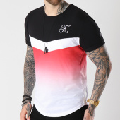 /achat-t-shirts-longs-oversize/final-club-tee-shirt-oversize-degrade-avec-broderie-074-noir-blanc-rouge-143382.html