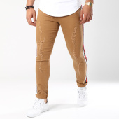 /achat-jeans/john-h-jean-slim-avec-bandes-a298-camel-143200.html