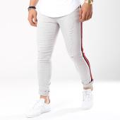 /achat-jeans/john-h-jean-slim-avec-bandes-a298-gris-143201.html