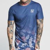 /achat-t-shirts-longs-oversize/siksilk-tee-shirt-oversize-hazey-daze-fade-12839-bleu-marine-floral-143360.html