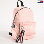 /achat-sacs-sacoches/tommy-hilfiger-jeans-sac-a-dos-satine-logo-mini-0186-rose-143287.html