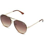 /achat-lunettes-de-soleil/quay-australia-lunettes-de-soleil-femme-cool-innit-marron-dore-143427.html
