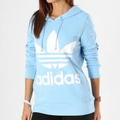 /achat-sweats-capuche/adidas-sweat-capuche-femme-trefoil-dh3145-bleu-clair-143451.html
