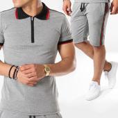 /achat-ensembles-survetement/classic-series-ensemble-polo-manches-courtes-short-jogging-avec-bandes-r18-4258-gris-rouge-143467.html