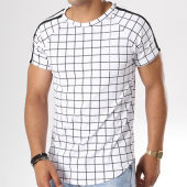 /achat-t-shirts-longs-oversize/frilivin-tee-shirt-oversize-avec-bandes-5065-blanc-143501.html