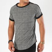 /achat-t-shirts-longs-oversize/frilivin-tee-shirt-oversize-avec-bandes-5003t-gris-143509.html