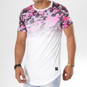 /achat-t-shirts-longs-oversize/terance-kole-tee-shirt-oversize-98101-rose-degrade-blanc-143588.html
